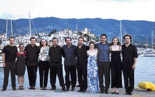 Με τους μουσικούς του Leondari Ensemble, για έκτη χρονιά φέτος, το Φεστιβάλ Σαρωνικού οργανώνει συναυλίες υψηλής ποιότητας.