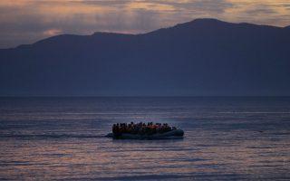 Το τελευταίο 24ωρο ακόμη 63 άτομα έφθασαν στη Λέσβο, με τον συνολικό αριθμό τους στο νησί να ανέρχεται στις 3.468.