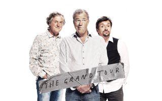 Η πρώην τριπλέτα του «Top Gear» ετοιμάζεται για το νέο σόου με τίτλο «Grand Tour».