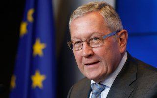 Ο επικεφαλής του Ευρωπαϊκού Μηχανισμού Σταθερότητας (ESM) Κλάους Ρέγκλινγκ καθιστά σαφές ότι η ελληνική κυβέρνηση δεν θα πρέπει να παρεκκλίνει κατ' ελάχιστον από το πρόγραμμα μεταρρυθμίσεων.