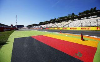 2014 Formula One German Grand Prix, Hockenheimring, Hockenheim, Baden-Wurttemberg,Germany, 17th - 20th July 2014. Circuit detail, Atmosphere, World Copyright: © Andrew Hone Photographer 2014.Ref:  _ONY4559