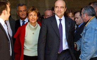 Ο πρώην πρωθυπουργός της Γαλλίας, Αλέν Ζιπέ.