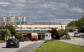 Το εμπορικό κέντρο Rosengard στο Μάλμε της Σουηδίας.