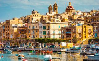 Το Μεγάλο Λιμάνι, με φόντο την παλιά πόλη της Βαλέτα, είναι ένα από τα δύο φυσικά λιμάνια της πρωτεύουσας.