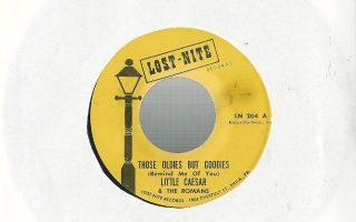 Η πρώτη πλευρά του δίσκου 45 στροφών που έγινε επιτυχία στην Αμερική το 1961.
