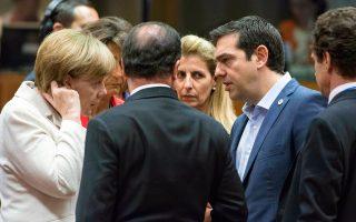 Η διαπραγμάτευση μεταξύ Μέρκελ και Τσίπρα διήρκεσε ώς τις 9 το πρωί της Δευτέρας και παραλίγο να καταρρεύσει για μία διαφορά 2,5 δισ. ευρώ.