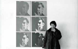 O Ai Weiwei στο MoMA της Νέας Υόρκης το 1987 (από τη σειρά New York Photographs 1983–93).
