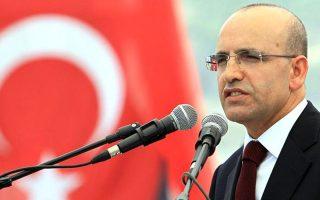 Ο αντιπρόεδρος της τουρκικής κυβέρνησης Μεχμέτ Σιμσέκ.