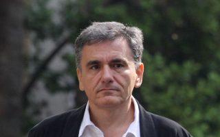 Ο υπουργός Οικονομικών Ευκλείδης Τσακαλώτος υποστήριξε ότι κλείνει ο φαύλος κύκλος της ύφεσης στην Ελλάδα.