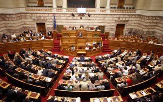 Από το βήμα της Βουλής ο πρωθυπουργός ουσιαστικά προανήγγειλε την πρόθεσή του να προτείνει τη συνταγματική κατοχύρωση της απλής αναλογικής.