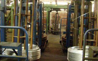 Κατέβασε διακόπτες, τελικά, η μονάδα παραγωγής συρμάτων και συρματόσχοινων, η οποία υπολειτουργούσε εδώ και καιρό.