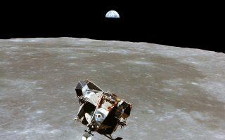 Το «Απόλλων 11», μετά την ολοκλήρωση της αποστολής του το 1969.