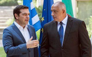 Πρόσκληση στον Βούλγαρο πρωθυπουργό Μπόικο Μπορίσοφ να επισκεφθεί την Αθήνα, τη Θεσσαλονίκη, αλλά και την Αλεξανδρούπολη, απηύθυνε ο Αλ. Τσίπρας, κατά τη χθεσινή συνάντησή τους στη Σόφια.