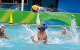 Η εθνική πόλο ανδρών ήρθε 9-9 με την πρωταθλήτρια κόσμου Σερβία.