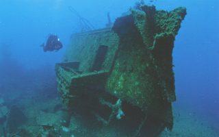 Tο ναυάγιο του «Μαστροπέτρος» (1999).