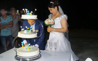 Ο Εχσάν και η Ζαχρά γνωρίστηκαν τον περασμένο Ιανουάριο σε μια αφγανική γιορτή στο νησί.