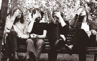 Οι Pink Floyd στις αρχές της δεκαετίας του '70. Το Μουσείο V & A του Λονδίνου βρίσκεται σε συνεννόηση με τα τρία εν ζωή μέλη της μπάντας για τη διοργάνωση μεγάλης έκθεσης.