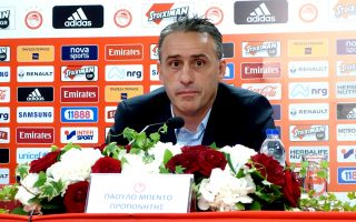 «Ηρθα να δουλέψω για να είμαι πρώτος», τόνισε ο προπονητής του Ολυμπιακού.