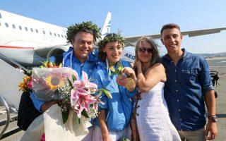 Η οικογένεια Κορακάκη έσμιξε ξανά έπειτα από τη «χρυσή» ολυμπιακή παρένθεση και την περιπέτεια στην Ιταλία...
