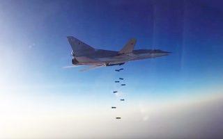 Ρωσικά βομβαρδιστικά απογειώθηκαν από ιρανική αεροπορική βάση για να πλήξουν θέσεις τζιχαντιστών στη Συρία. Ηταν η πρώτη φορά από το 1979 που το Ιράν επέτρεψε τη χρήση εθνικού εδάφους από ξένη δύναμη για στρατιωτικούς σκοπούς.
