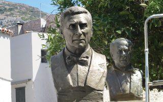 Την Κυριακή θα αποκαλυφθεί η προτομή του Παναγιώτη Τέτση στην Υδρα, στο Αλσος Υδραίων Ζωγράφων.