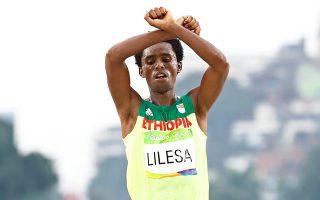 Ασυλο ζήτησε στη Βραζιλία ο ασημένιος Ολυμπιονίκης του μαραθωνίου δρόμου Φεϊζά Λιλέσα.