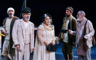 Το Εθνικό Θέατρο, το ΚΘΒΕ και ο ΘΟΚ συμπράττουν στην «Αντιγόνη» του Σοφοκλή, σε σκηνοθεσία Στάθη Λιβαθινού.