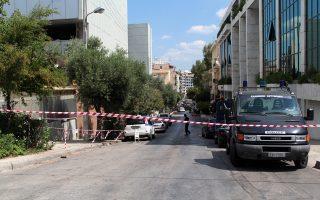 Δρακόντεια ήταν τα μέτρα ασφαλείας χθες έξω από το κτίριο της Γενικής Γραμματείας Ενημέρωσης, κατά τη διάρκεια της διαδικασίας προσομοίωσης.