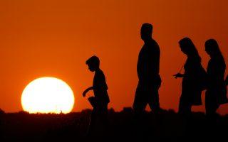 Η μέση θερμοκρασία του πλανήτη είναι κατά φέτος 1,38 βαθμό Kελσίου πάνω από τα επίπεδα του 19ου αιώνα.