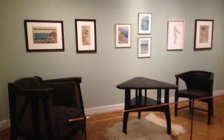 Πληθώρα έργων τέχνης από τις αρχές του 20ού αιώνα κοσμούν το Μουσείο του Amos Anderson.
