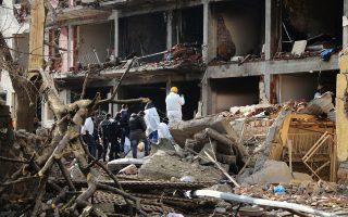 Έκρηξη με τραυματίες σημειώθηκε στα περίχωρα του Ντιγιάρμπακιρ (φωτογραφία αρχείου).