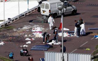 Δεκάδες τα θύματα από την επίθεση στη Νίκαια, την ημέρα της εθνικής γιορτής της Γαλλίας. Η Ευρώπη είναι σε μεγάλο βαθμό εκτεθειμένη στην τρομοκρατία.