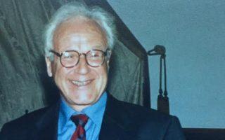 Από την απονομή του Βραβείου Νεμπρίχα, στη Σαλαμάνκα το 2000.