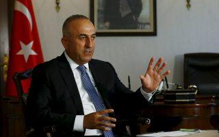 Ο Τούρκος υπουργός Εξωτερικών, Μεβλούτ Τσαβούσογλου.