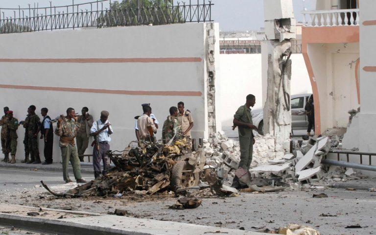 Σομαλία: Βομβιστική επίθεση έξω από το προεδρικό μέγαρο με δέκα νεκρούς