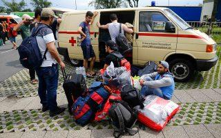 Οι περισσότεροι από το ένα εκατομμύριο ανθρώπων, που έφθασαν τον περασμένο χρόνο στην Ε.Ε., κατέθεσαν αίτηση ασύλου στη Γερμανία.