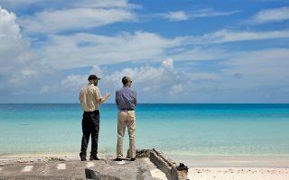 Βόλτα στην Παπαχαναουμοκουακέα για τον Αμερικανό πρόεδρο Μπαράκ Ομπάμα, όπου ανακοίνωσε τον τετραπλασιασμό της έκτασης του θαλάσσιου πάρκου.