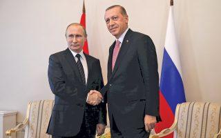 O Βλαντιμίρ Πούτιν και ο Ρετζέπ Ταγίπ Ερντογάν έδωσαν το «πράσινο φως» για την κατασκευή του αγωγού, κατά τη συνάντηση που είχαν στην Αγία Πετρούπολη τον περασμένο Αύγουστο.
