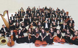 H Συμφωνική Ορχήστρα του Θιάσου Oπερας και Xοροδράματος της Kίνας δίνει απόψε, στο Mέγαρο, σε συνεργασία με την πρεσβεία της Λαϊκής Δημοκρατίας της Kίνας, μία και μοναδική συναυλία με έργα Kινέζων συνθετών.