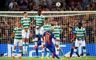 Ο Νεϊμάρ έκανε τα πάντα χθες στη Βαρκελώνη, με την Μπαρτσελόνα να συντρίβει τη Σέλτικ με 7-0.