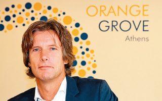 Ο Ολλανδός Jan Versteeg, εμπνευστής του Orange Grove.
