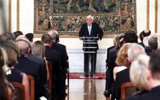 «Η αντιπροσωπευτική δημοκρατία κινδυνεύει σήμερα, ακόμη και στις ανεπτυγμένες χώρες», ανέφερε ο Πρόεδρος της Δημοκρατίας Προκόπης Παυλόπουλος.