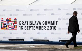 Χαμηλές οι προσδοκίες από τη Σύνοδο Κορυφής στην Μπρατισλάβα για το μέλλον της Ε.Ε. μετά το Brexit.