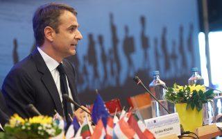 Τη στήριξή του στο πρόσωπο και στο έργο του Γ. Στουρνάρα δήλωσε ο πρόεδρος της Νέας Δημοκρατίας Κυρ. Μητσοτάκης.