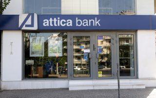 Σύμφωνα με πληροφορίες της «Κ», από το πόρισμα του ελέγχου, από 31.12.2014 έως σήμερα και ενώ η καταθετική βάση της τράπεζας κατέρρεε –χάνοντας πάνω από 1,2 δισ. ευρώ καταθέσεις– η διοίκηση της Attica Bank χορηγούσε δάνεια, πέρα από κάθε τραπεζική λογική, άνω των 400 εκατ. ευρώ, τα οποία μάλιστα εμφανίζουν δείκτη καθυστέρησης μεγαλύτερο από τον μέσο όρο της τράπεζας, δηλαδή φτάνουν ή και ξεπερνούν το 60%.