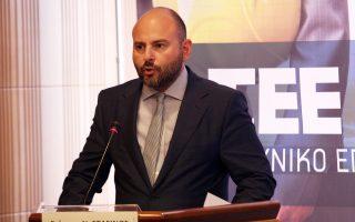 Ο πρόεδρος του ΤΕΕ κ. Γ. Στασινός.