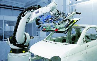 Οι αυτοκινητοβιομηχανίες, οι οποίες κάνουν και τις μεγαλύτερες αγορές βιομηχανικών ρομπότ, έχουν μειώσει σημαντικά τις επενδύσεις τους σε ρομποτικά συστήματα.