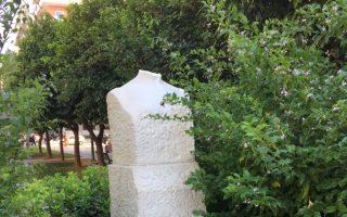vandalisan-tin-protomi-tis-lelas-karagianni-sta-exarcheia0