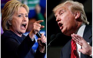 Εξι εβδομάδες πριν από τις προεδρικές εκλογές του Νοεμβρίου, Χίλαρι Κλίντον και Ντόναλντ Τραμπ διασταυρώνουν αύριο βράδυ τα ξίφη στην πρώτη κρίσιμη τηλεοπτική αναμέτρησή τους.