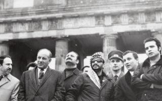 Ο Γιασέρ Αραφάτ  (εδώ σε επίσκεψή του στην Ανατολική Γερμανία το 1971) υπήρξε ιδρυτικό στέλεχος της Φατάχ, η οποία αποτέλεσε τον κορμό της PLO. Το 1969 ο Αραφάτ ανέλαβε την ηγεσία της.